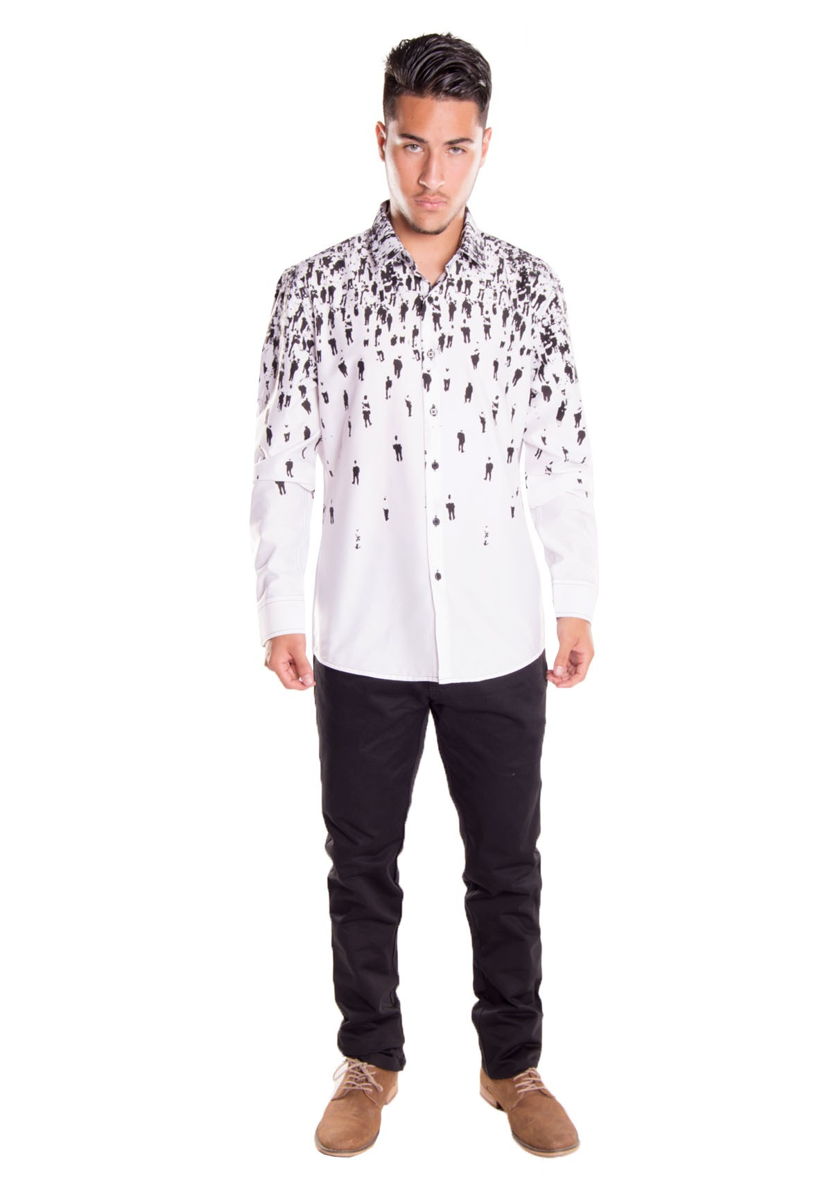 fitted shirt cd4478 white