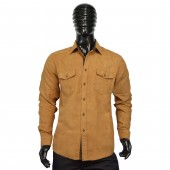 FITTED SHIRT CD4143 CAMEL