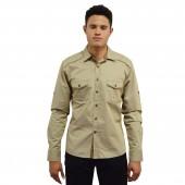 Denim Shirt CD3919 Khaki