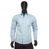 FITTED SHIRT CD4181 LIGHT BLUE