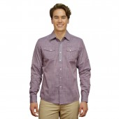 FITTED SHIRT CD4183 PURPLE