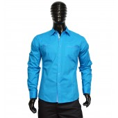 FITTED SHIRT CD4215 turquoise