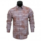 FITTED SHIRT CD3409 BRICK